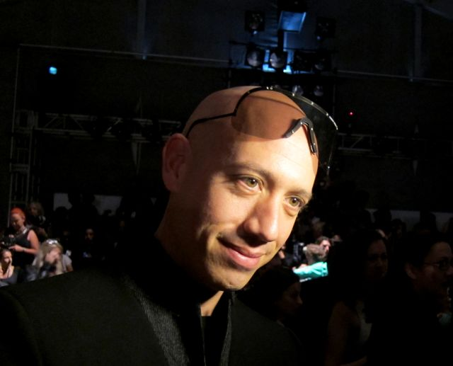 Robert Verdi talks trends on the runway, pre-show