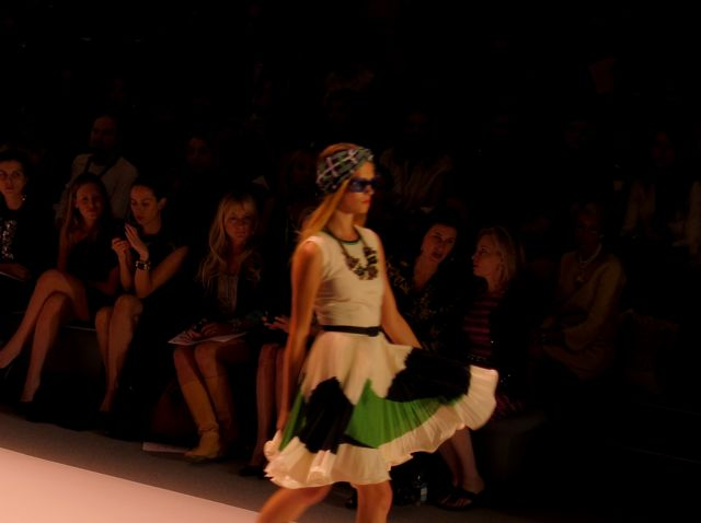 runway look at Milly by Michelle Smith