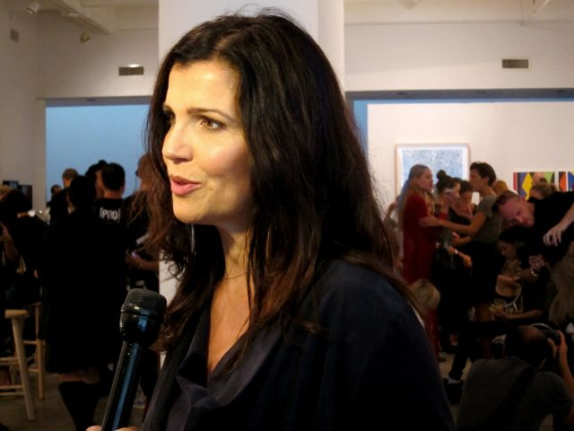 Ali Hewson talks the line