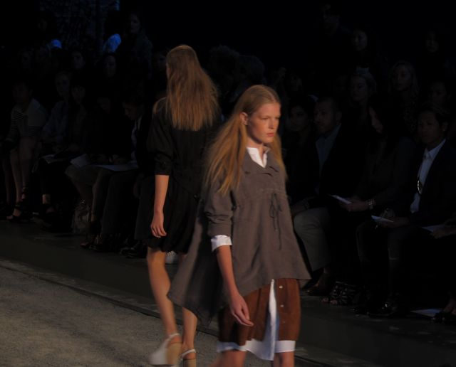 runway look at Edun