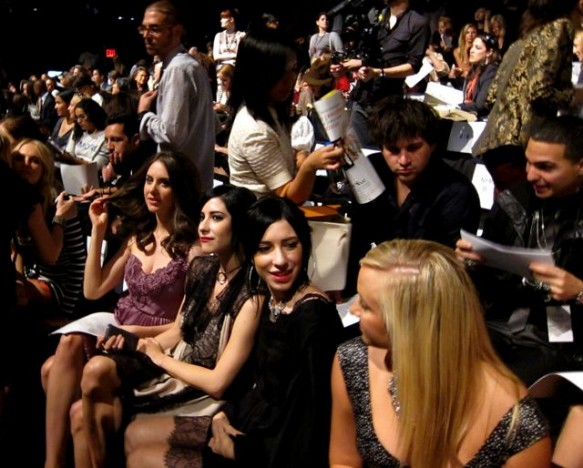 Front Row with Mad Men's Alison Brie