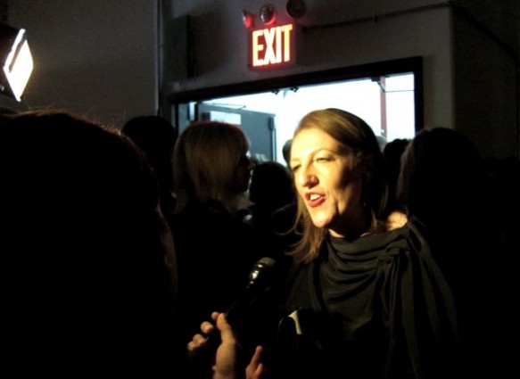 Harper's Bazaar Editor-in-Chief Glenda Bailey talks Wu, post-show