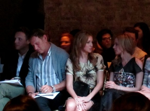 InStyle's Fashion Director Hal Rubenstein, front row at Jason Wu