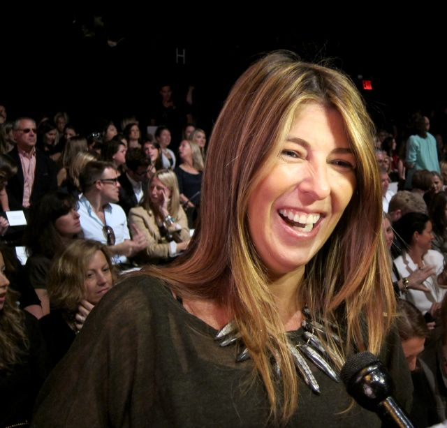Nina Garcia talks trends with us, front row at Carolina Herrera