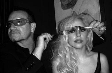 Bono_LadyGaga(c)MickRock-1