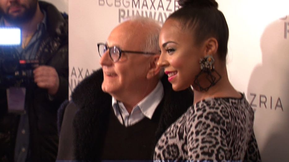 Ashanti with Maz Azria. Not JaRule. 