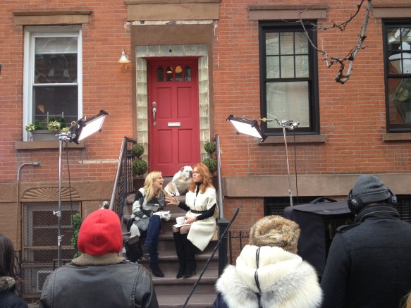 Sarah Ferguson on Talk Stoop with Host Cat Greenleaf