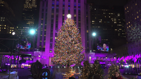 86th Annual Rockefeller Center Christmas Tree Lighting