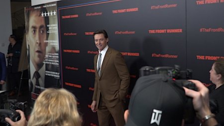 Hugh Jackman at the The Front Runner Premiere
