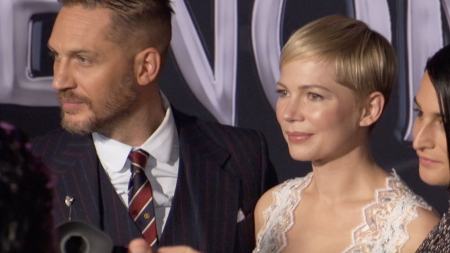 Tom Hardy and Michelle Williams Talk Venom