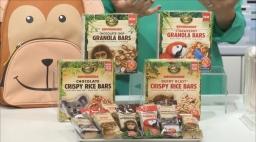 Envirokidz granola bars and crispy rice bars