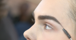 Defined eyebrow