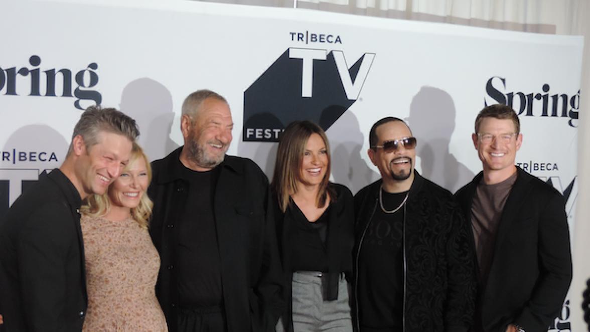 Law & Order: Special Victims Unit, SVU, Tribeca TV Festival, Mariska Hargitay