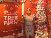 Amy Sedaris Kicks Off The Holiday Season at Michaels