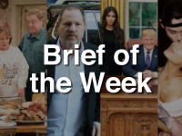 Brief of the Week: Roseanne Canceled, Harvey Weinstein Indicted, Kim K Meets Trump and Celeb Couples News