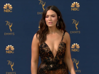 Emmys 2018 Red Carpet Looks: Mandy Moore, Milo Ventimiglia, Emilia Clarke, Kristen Bell and More