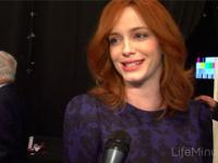 A Lifeminute with Mad Men's Christina Hendricks