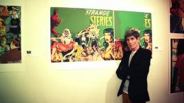 "NY Artist Martin Abrahams ""Breaks on Through"" with his Provacative Art Show"