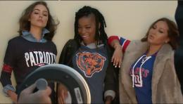 Olivia Culpo, Keke Palmer, Adrienne Bailon, NFL Women's Apparel