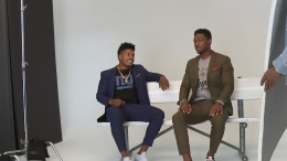 NFL Stars Stefon Diggs and Sterling Shepard Talk Style