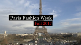 Fall 2017 Fashion: PARIS