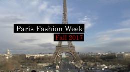 Fall 2017 Fashion: PARIS