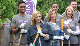 Brittany Snow, vitafusion, Fruit Tree Project