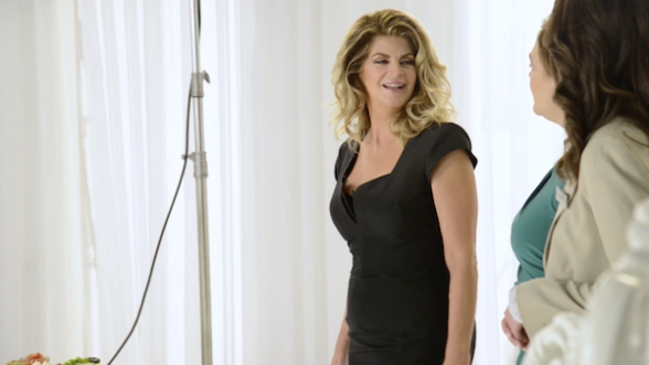 Kirstie Alley for Jenny Craig Healthy Food
