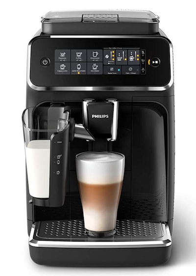 Philips 3200 Series Fully Automated Espresso Machine with LatteGo