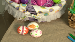 easter egg markers