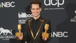 Brendon Urie wins Top Rock Album and Top Rock Song