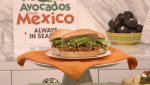 Avocados From Mexico, Avocados, Avocado recipes, leftover Avocados, what to do with big game day leftovers, Avocado and Corizo Torta, Pati Jinich, guacamole, PATI'S MEXICAN TABLE, Chicken Taquito, halved avocado, lifeminute, lifeminute.tv