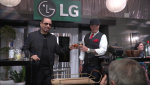 Vanilla Ice, Ice-T, Ice Off, LG, InstaView Fridge, craft ice, LG Electronics, lifeminute, lifeminute.tv