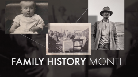 AncestryDNA, Family History Month, family history, ancestry, Family storytelling, family story, historical records, Genetics, lifeminute, lifeminute.tv