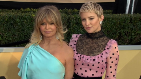 Celeb Mother's Day, Goldie Hawn, Kate Hudson