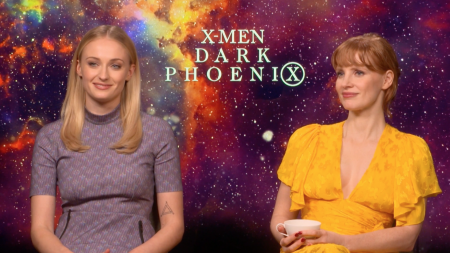 Sophie Turner Talks Dark Phoenix, Co-Star Jessica Chastain and GoT