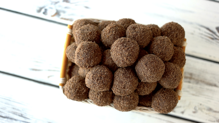 Two-Ingredient Chocolate Truffle Recipe