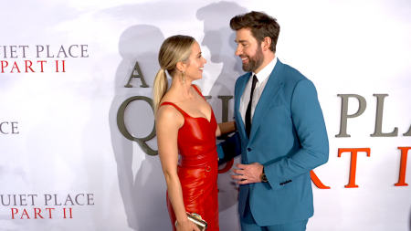 John Krasinski, Emily Blunt, A Quiet Place Part II, Cillian Murphy, NYC Premiere, lifeminute, lifeminute.tv