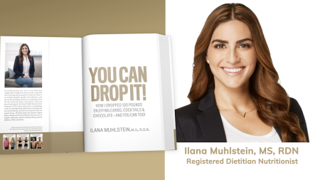 Ilana Muhlstein, You Can Drop It!, You Can Drop It!: How I Dropped 100 Pounds Enjoying Carbs, Cocktails & Chocolate–and You Can Too!, how to lose weight, weight loss secrets, Beachbody fitness, nutrition program, 2B Mindset, lifeminute, lifeminute.tv