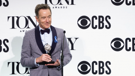 Bryan Cranston, Tony Award, Tonys, NETWORK, All the Way, Broadway, lifeminute, lifeminute.tv