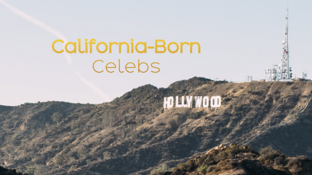 Celebrity California Girls and Boys