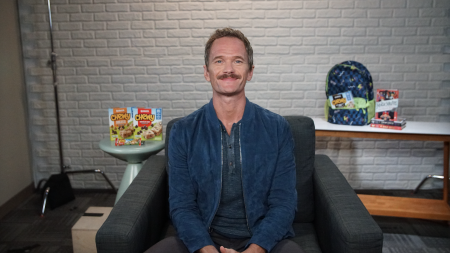 Neil Patrick Harris, Quaker Chewy granola bars, chewy, Adopt A Classroom, back-to-school, lifeminute, lifeminute.tv