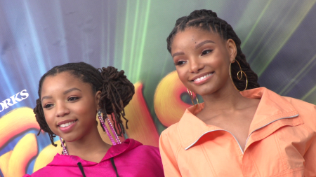 A LifeMinute with New Little Mermaid Star Halle Bailey and Sister Chloe