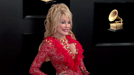 Dolly Parton at 2019 Grammys
