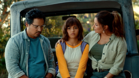 Dora the Explorer, Dora and the Lost City of Gold, Eva Longoria, Isabela Moner, Jeff Wahlberg, Michael Peña, dora, movies, new movies, lifeminute, lifeminute.tv