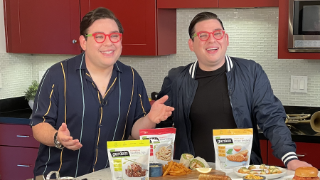 "Food Network's Potash Twins Launch ""Plant-Based Double-Take"" Challenge and Share Recipes and Tips"