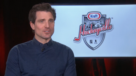 Patrick Sharp, Kraft Hockeyville, NHL, NHLPA Goals & Dreams, Kraft Heinz, hockey, hockeyville, lifeminute, lifeminute.tv