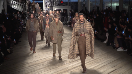 joseph abboud, fall 2019, Fashion, nyfw, Neil Patrick Harris, David Burtka, Chazz Palminteri