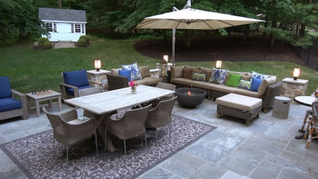 Home improvement, Lightstream, outdoor renovations, financing home improvement, backyard oasis, lifeminute, lifeminute.tv