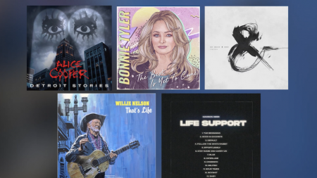 New Music: Willie Nelson, Bonnie Tyler, Madison Beer and More